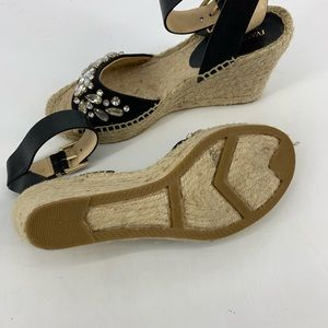 Ivanka Trump Shoes - Ivanka Trump Dona 3 escadrille Embellished wedges